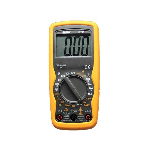 Compact Auto Digital Multimeter Battery Tester