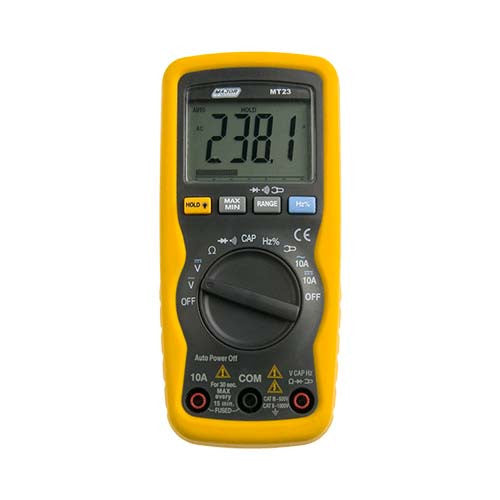 Major Tech Compact Auto Digital Multimeter - Capacitance