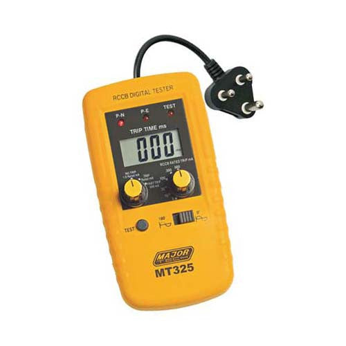 Major Tech Digital RCD/ELCB Tester 220V MT325