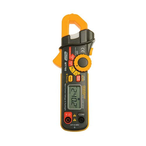 Major Tech Compact Ac Dc True Rms Clamp Meter 200A