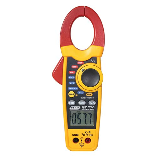 Major Tech AC Clamp Meter 1000A