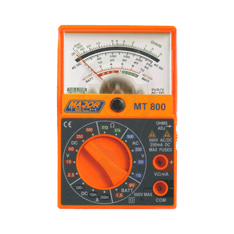 Major Tech Pocket Analogue Multimeter 2000 OPV