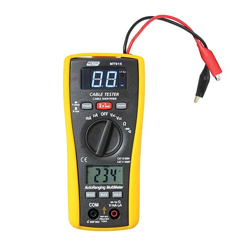 Major Tech Cable Finder & Digital Multimeter 2-in-1