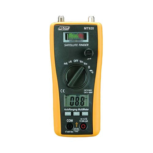 2 In 1 Satellite Finder Digital Multimeter