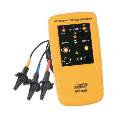 Major Tech Dead Motor and Phase Rotation Meter MT935