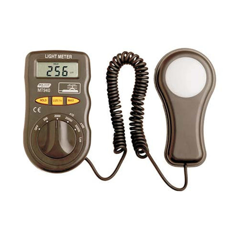 Major Tech Digital Light Meter, 0.1 Lux to 50,000 Lux MT940