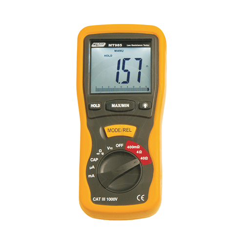 Millohm Meter And Digital Multimeter