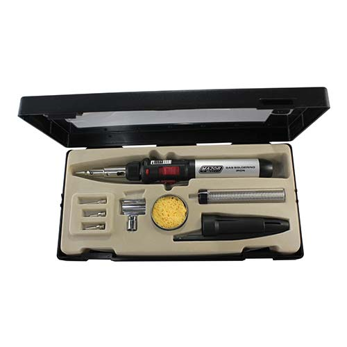 Major Tech Gas Soldering Iron Kit