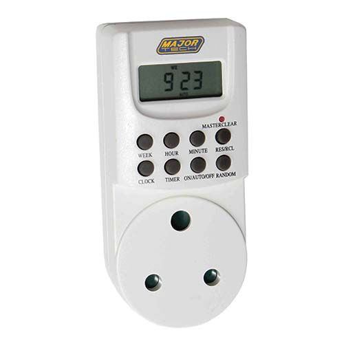 Major Tech 8 Setting Digital Programmable Timer