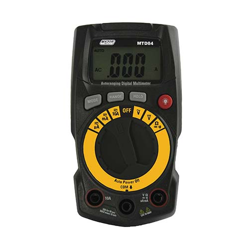 Major Tech 7 Function Digital Multimeter with Holster & Tilt Stand