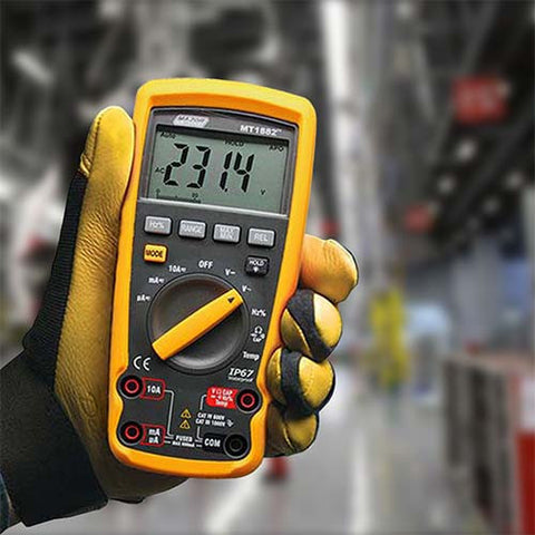 Major Tech Auto Digital Multimeter - Industrial Temperature, CAT IV 600V