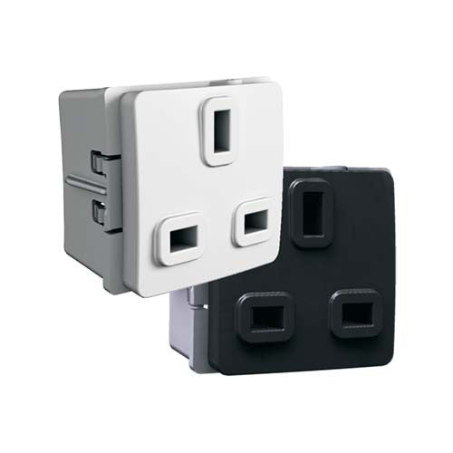 VETi 13A British Socket Outlet Module