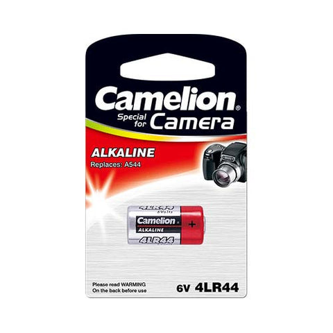 Major Tech 4LR44 Type, 6V Plus Alkaline Camera Battery