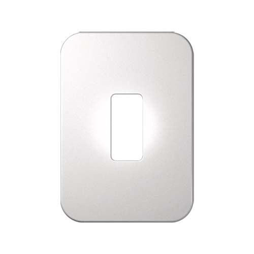 Veti 1 Single Module Vertical Cover Plate
