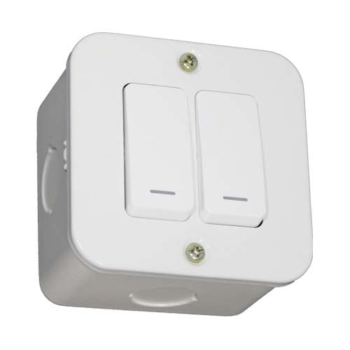 VETi 2 Lever 1-Way Switch