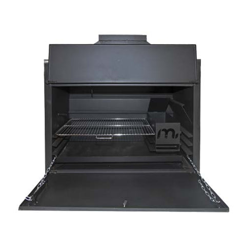 Megamaster 750 Sizzler Built In Braai Black