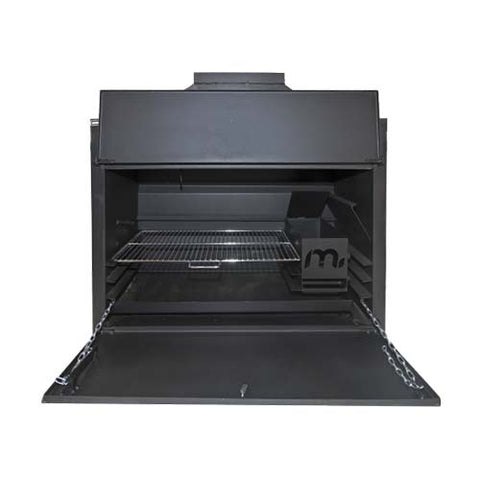 Megamaster 1200 Sizzler Built In Braai Black