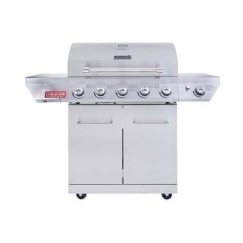 Megamaster Evolution 500 Pro Freestanding Patio Gas Braai