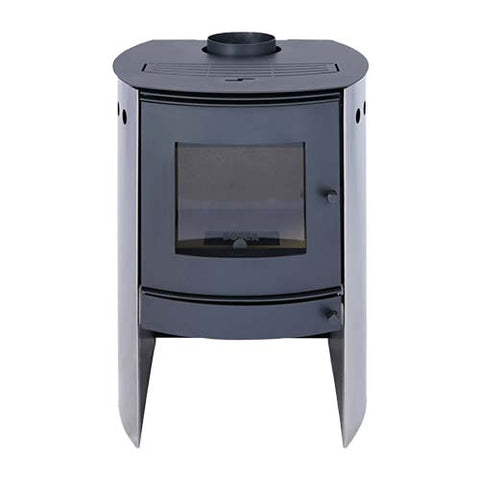 Megamaster Bosca Spirit Closed Combustion Fireplace 380 Stainless Steel