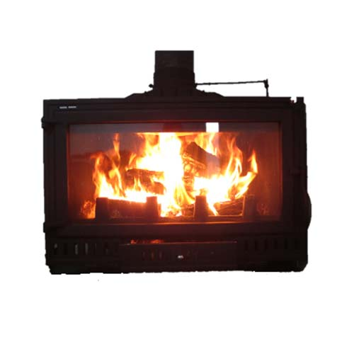 Megamaster Turano Cast Iron Fireplace