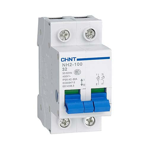 Chint 2p 3ka Isolator Switch Disconnector Livecopper