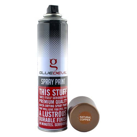 GlueDevil Spray Paint Natural Copper