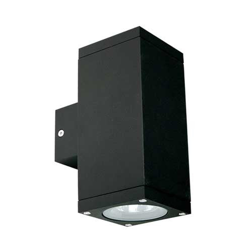 Kube Twin Up Down Facing Wall Light