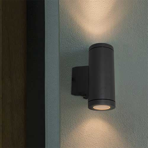 Eurolux Metro Up And Down Facing Outdoor Wall Light