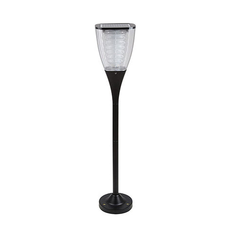 Eurolux LED Solar Bollard Garden Lawn Light