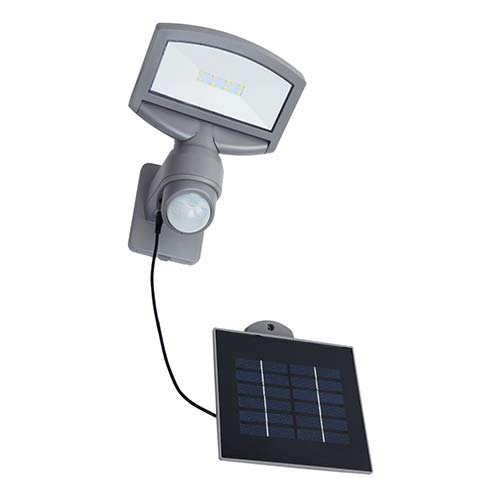 Lutec Sunshine LED Solar Wall Light 3.2W