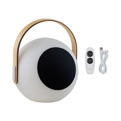 Mooni Eye Speaker Lantern With Wooden Handle