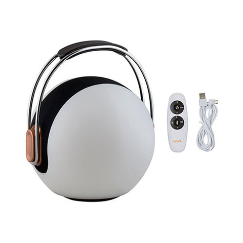 Mooni Musical Ball Speaker Lantern With Metal Handle