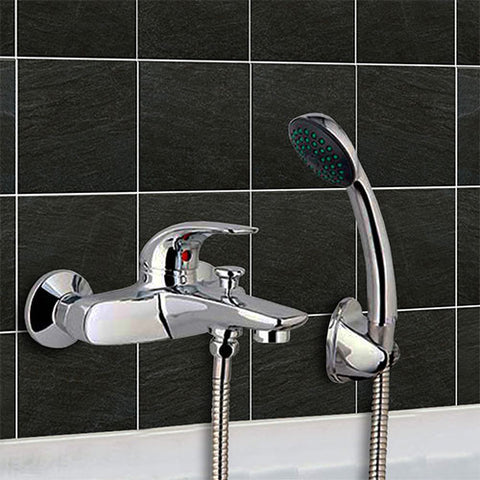 Omega Bath Mixer with Shower Set