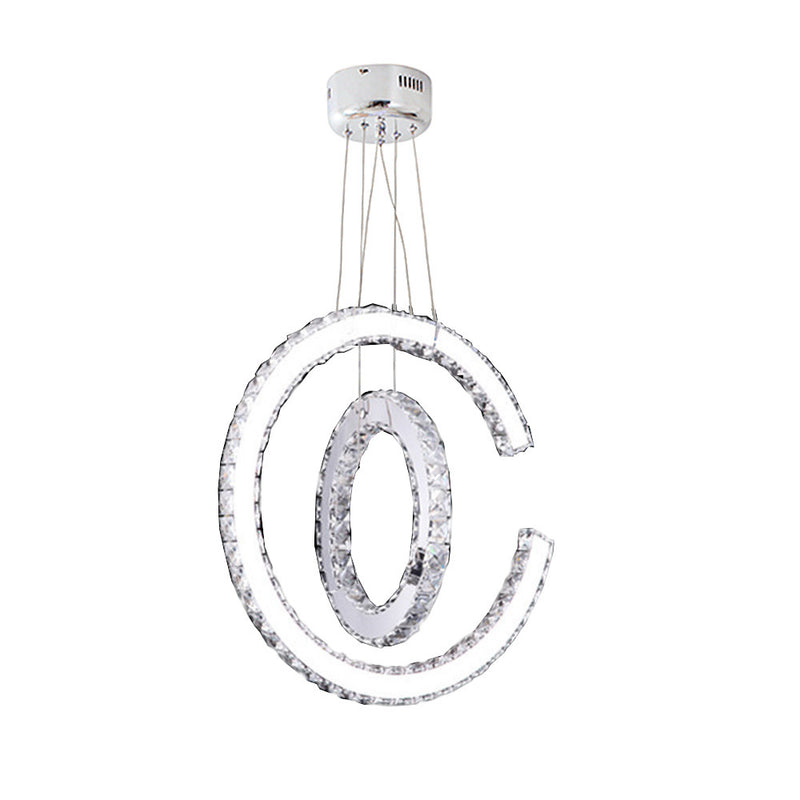 Eurolux Orbit LED Crystal Chandelier