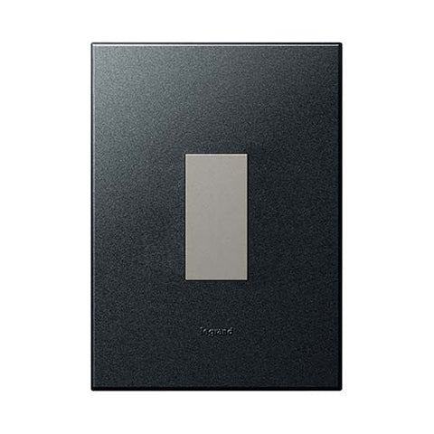 Legrand Arteor 1 Lever Light Switch - Graphite P124MGP