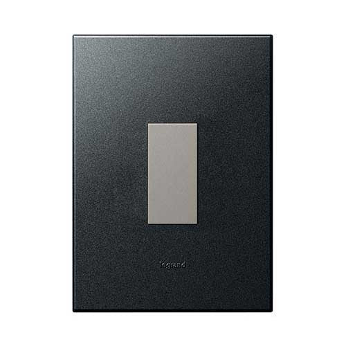Legrand 1 Lever Dim Press Graphite