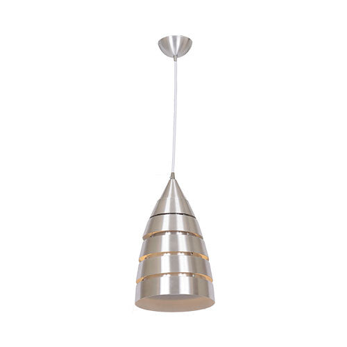 Bright Star Segmented Aluminium 1 Light Pendant