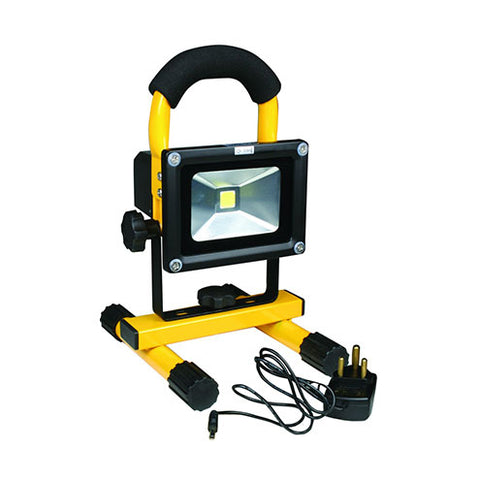 ACDC Portable & Rechargeable LED Floodlight 10W