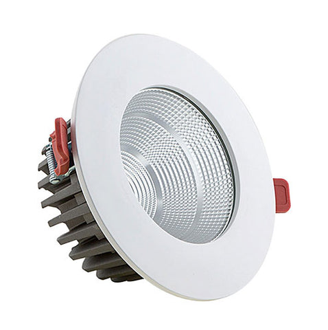 Eurolux LED Recessed Downlight - 30W Ivory White