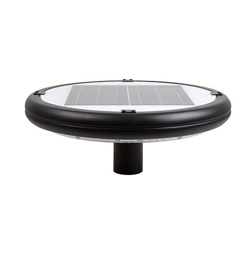 Eurolux LED Solar Pole Light Round