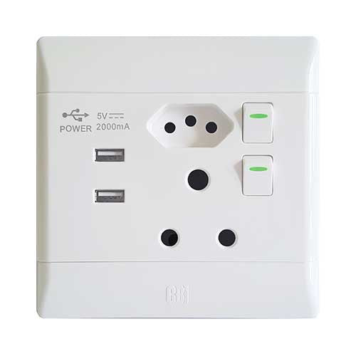 cat 5 cable wall plug wiring diagram cbi pvc slimline usb combo socket – livecopper wall plug wiring south africa