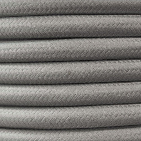 Spazio Canvas Cable Pewter 20M