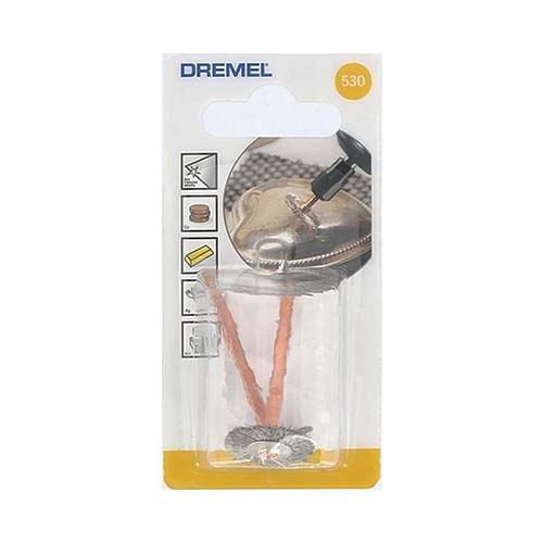 Dremel Stainless Steel Brush 19mm 530
