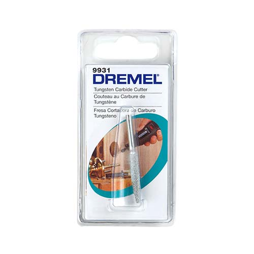 Dremel Structured Tooth Tungsten Carbide Cutter Spear Shaped 6 4mm 9931
