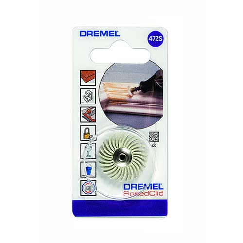 Dremel Ez Speedclic Detail Abrasive Brush 472S