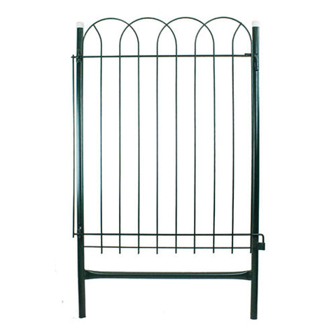 Xpanda Poolside Gate 1000mm x 1250mm - Hammer-tone Green