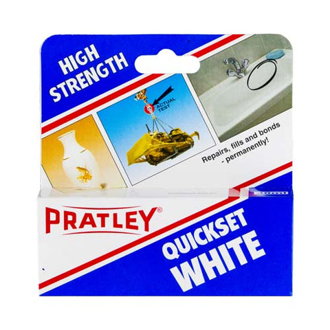 Pratley Quickset White 40Ml
