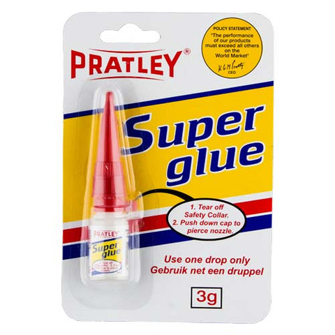 Pratley Super Glue 3G