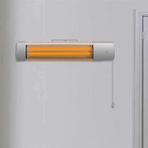 Waco Bathroom Heater with Pull String