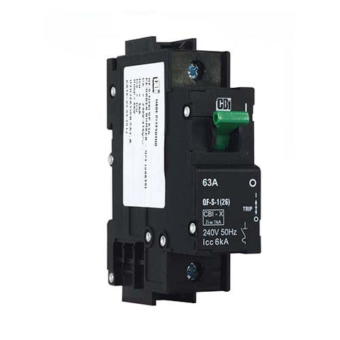 CBi Dual Mount Isolator 1 Pole 6kA - QF-S-1(26) QFE10063